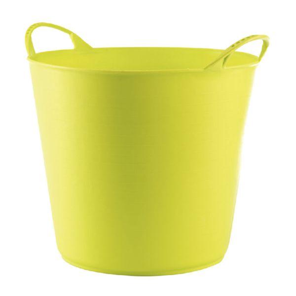 Capazo 42 litros, verde pistacho