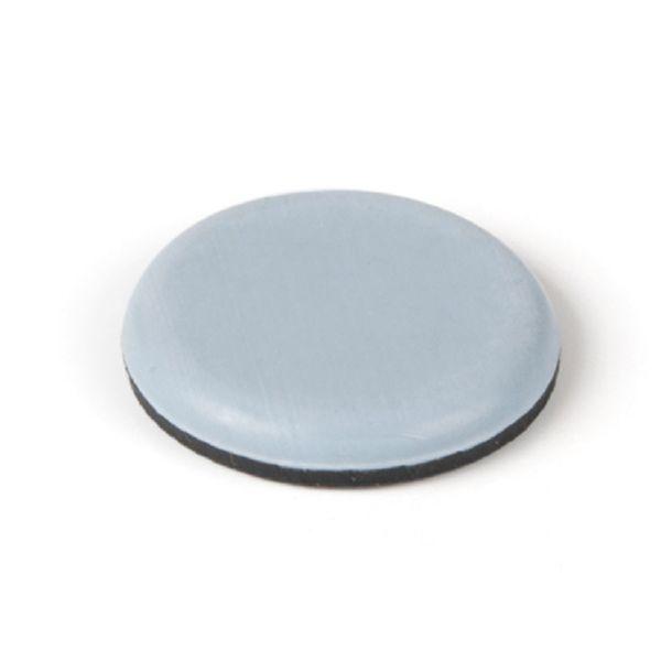 Patín adhesivo deslizante. 8 uds. Ø 20 mm..